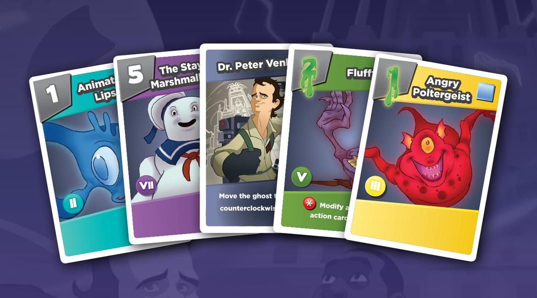 renegade game studios ghostbusters card game