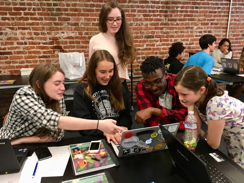 Girls Make Games camp