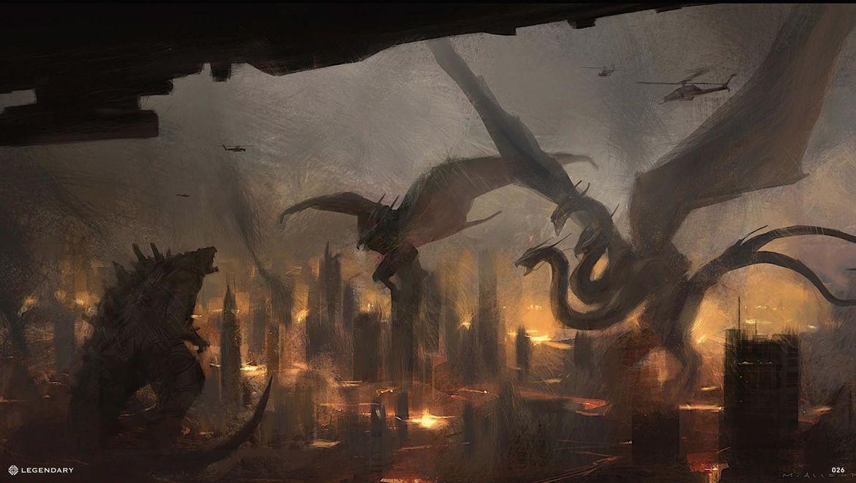 Concept Art Bow Dragon
