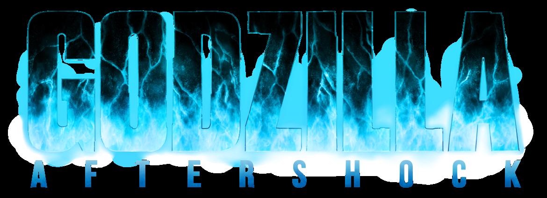 Godzilla Aftershock Blue and Black logo