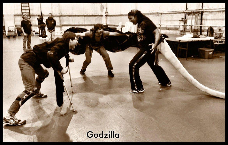 TJ Storm Motion Capture technology Godzilla