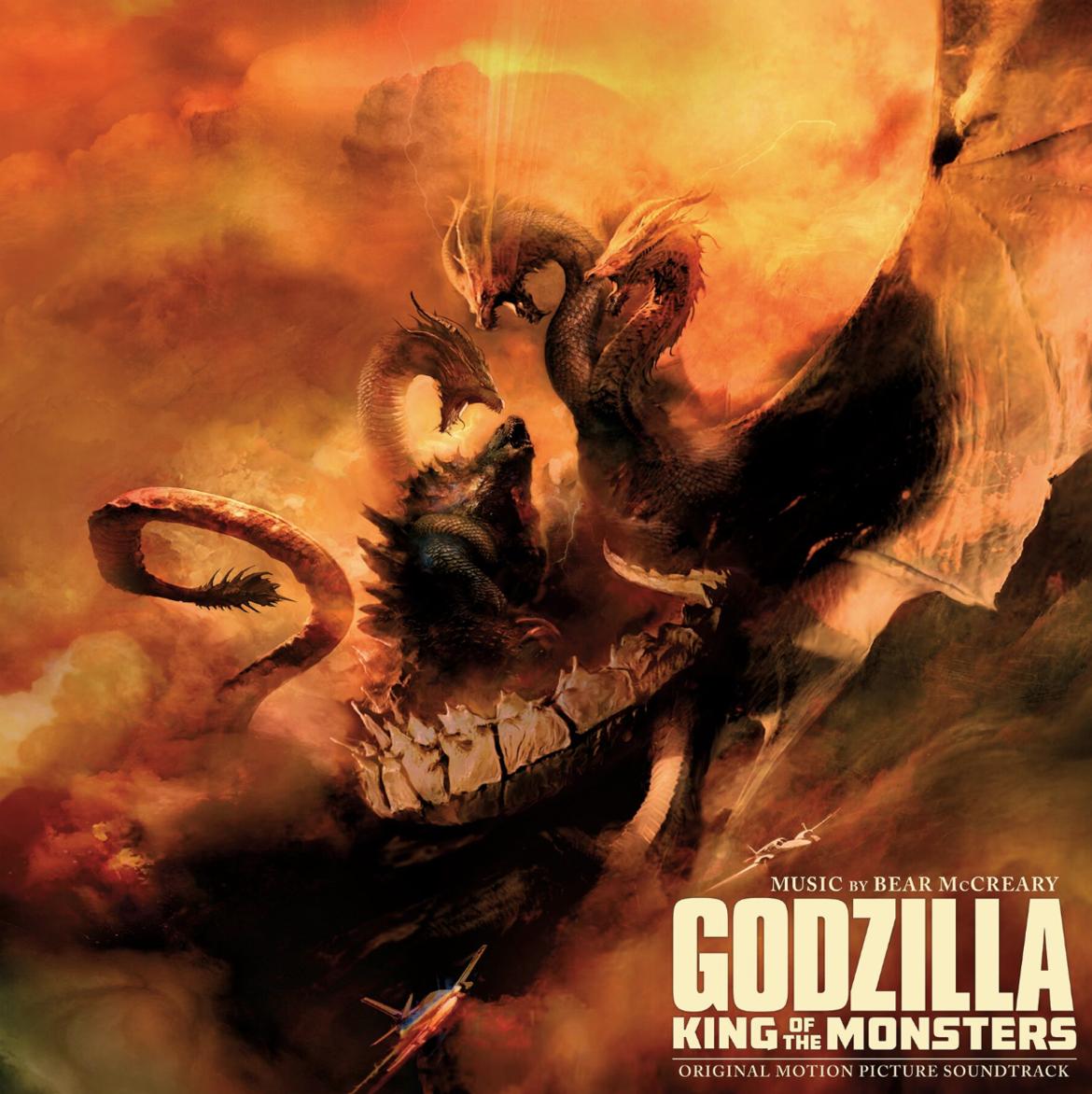 Waxwork's vinyl score for Bear McCreary's Godzilla: King of