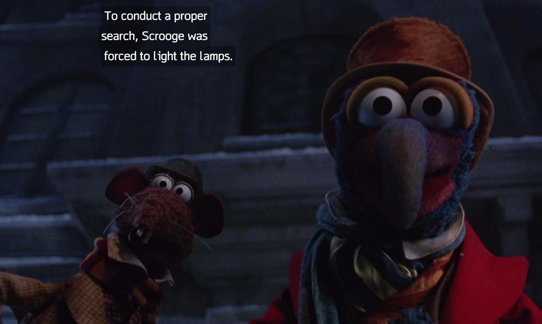 The Muppet Christmas Carol Trailer 1992.Deja View The Muppet Christmas Carol Syfy Wire