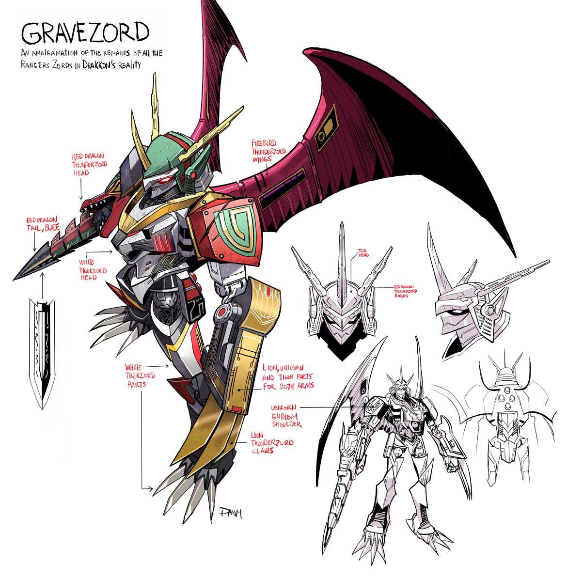 Gravezord, Ranger Slayer's Megazord