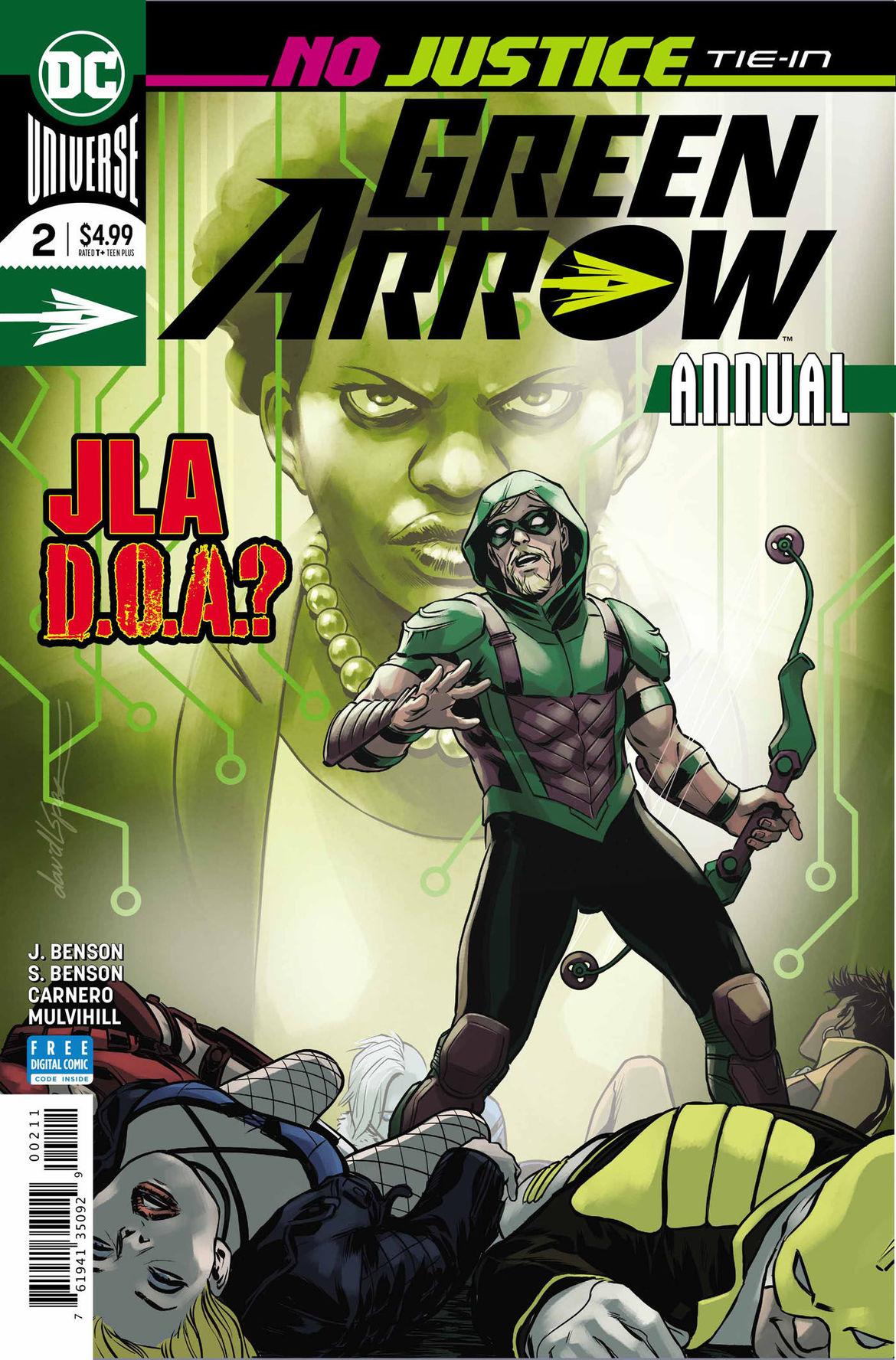 Green Arrow Annual 2 cover