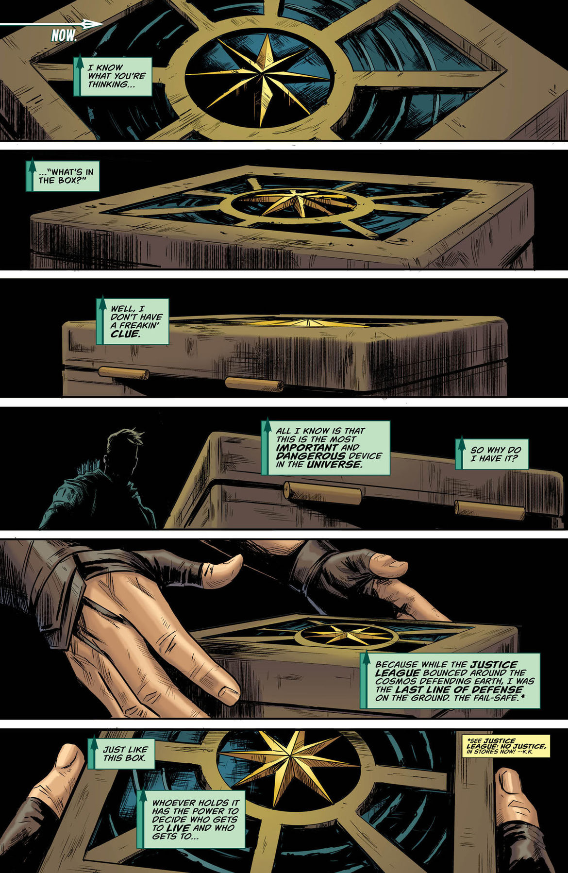Green Arrow Annual 2 page 1