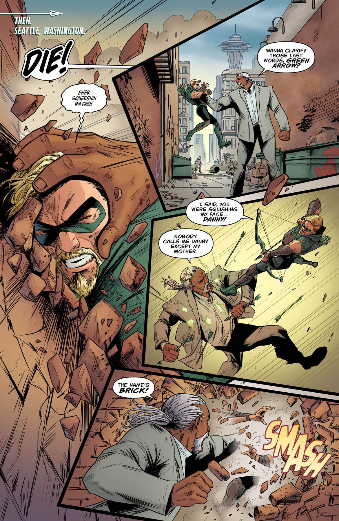 Green Arrow Annual 2 page 2
