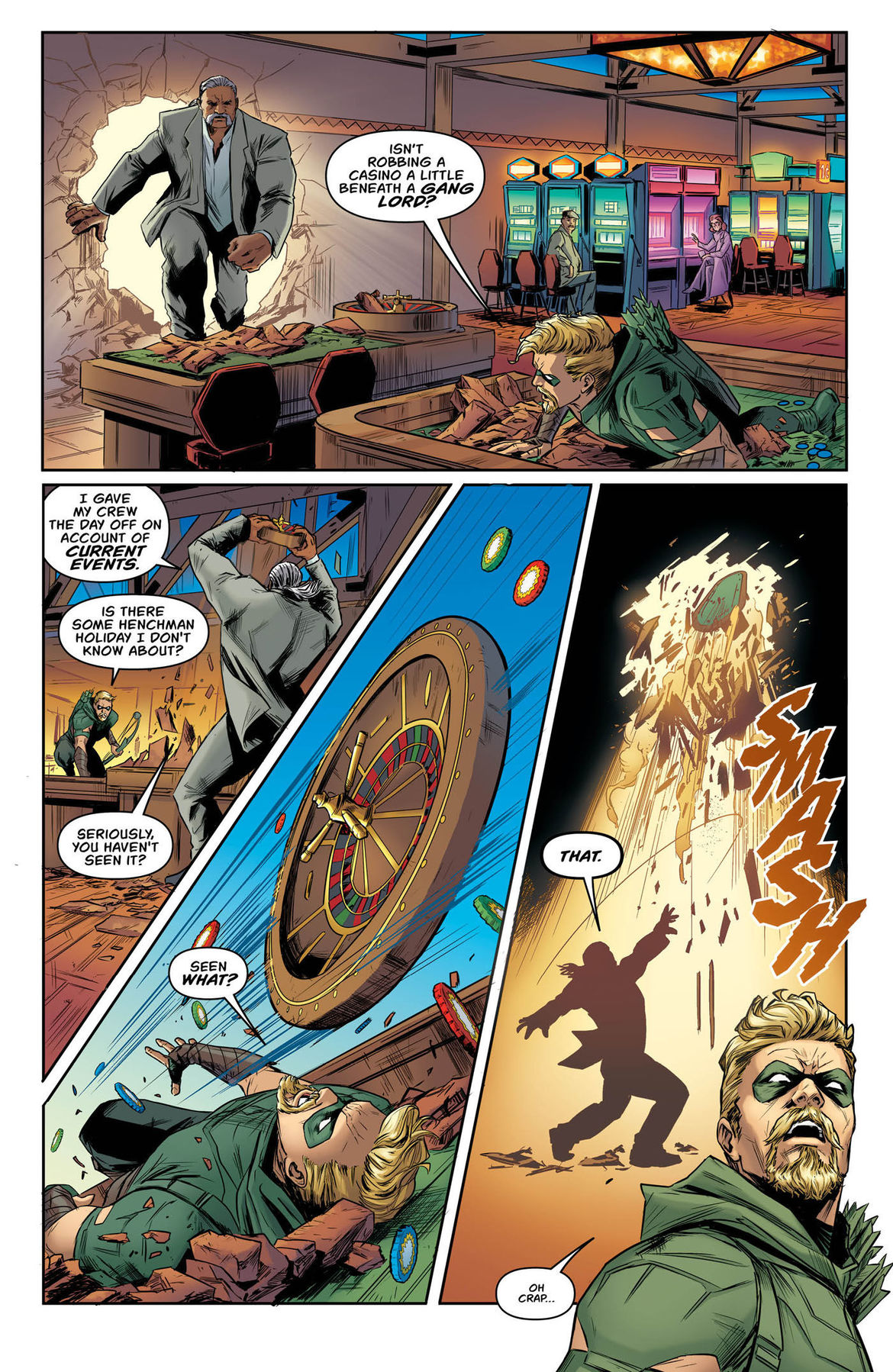 Green Arrow Annual 2 page 3