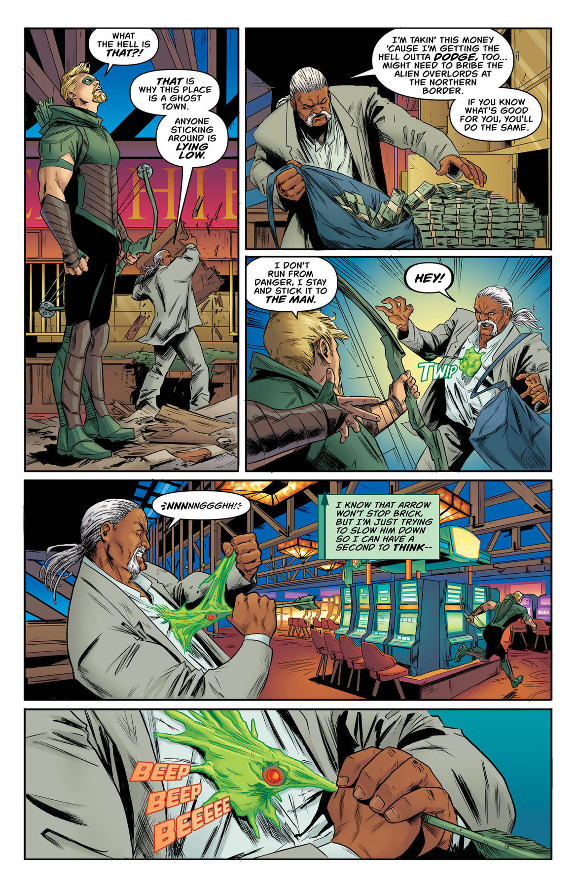 Green Arrow Annual 2 page 5