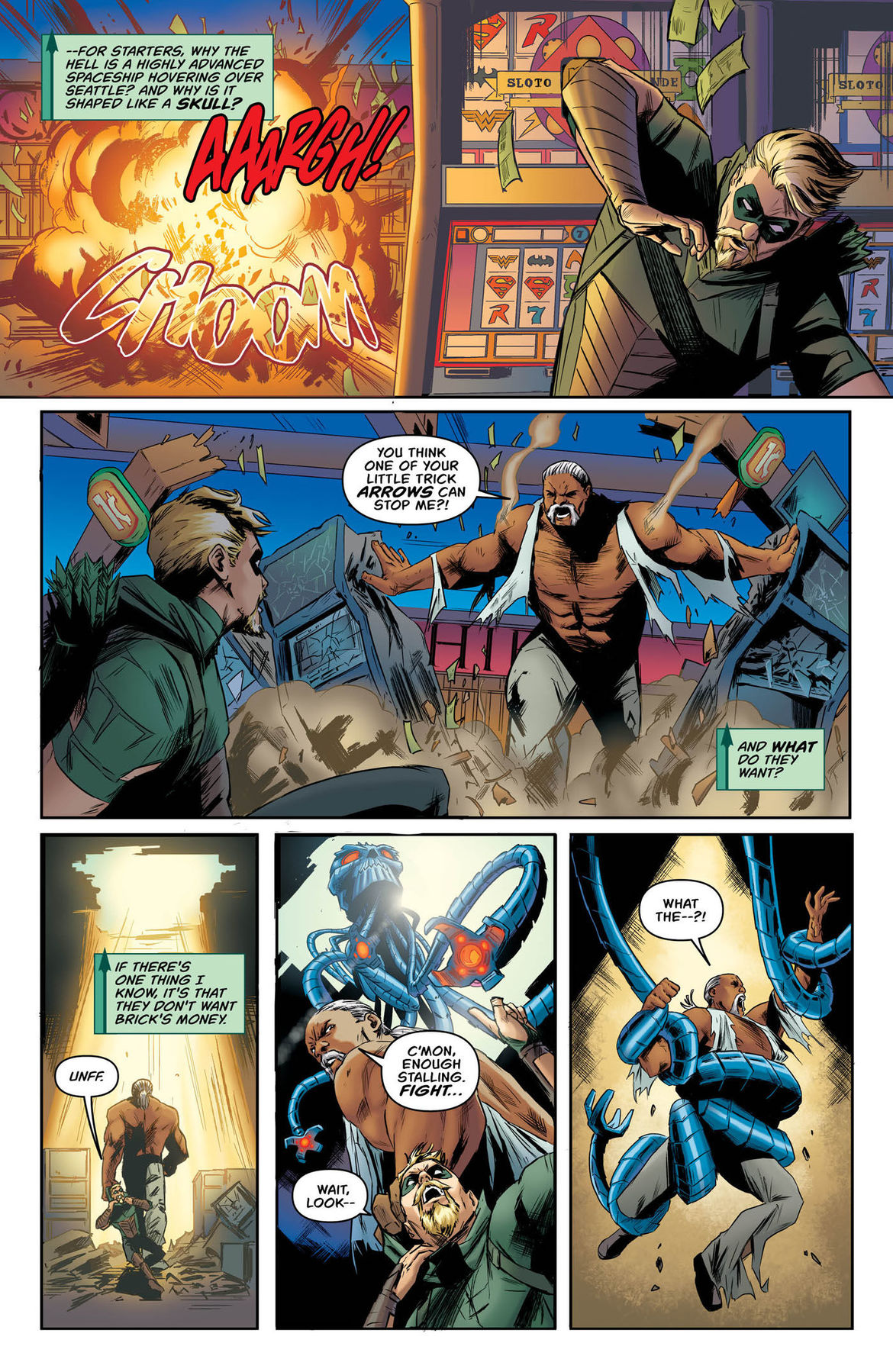 Green Arrow Annual 2 page 6