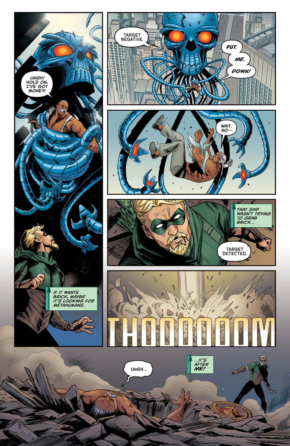 Green Arrow Annual 2 page 7