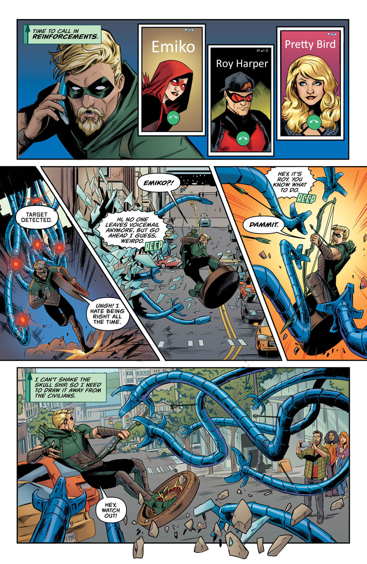 Green Arrow Annual 2 page 8