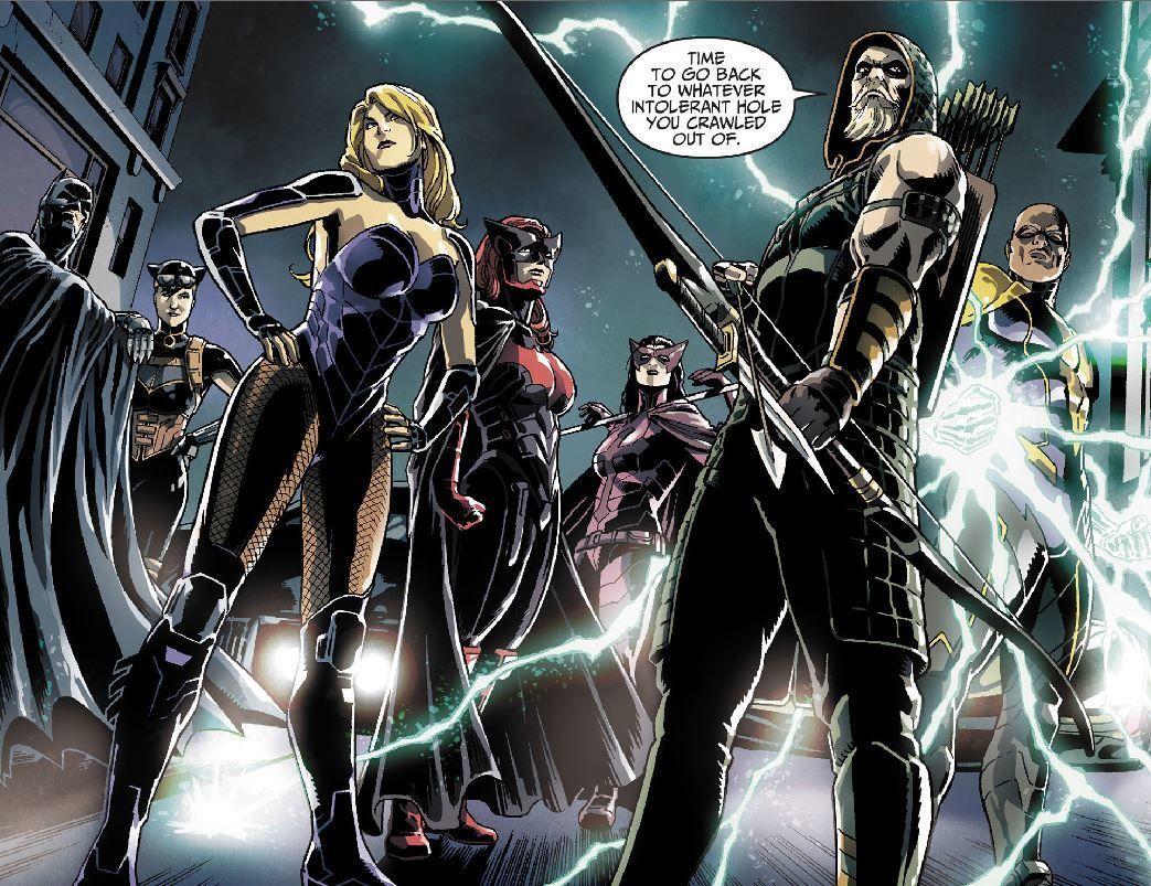 Green Arrow Batwoman comic