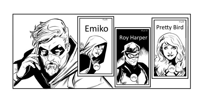 Green Arrow Supporting Cast