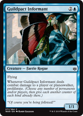 Guildpact Informant Magic the Gathering War of the Spark