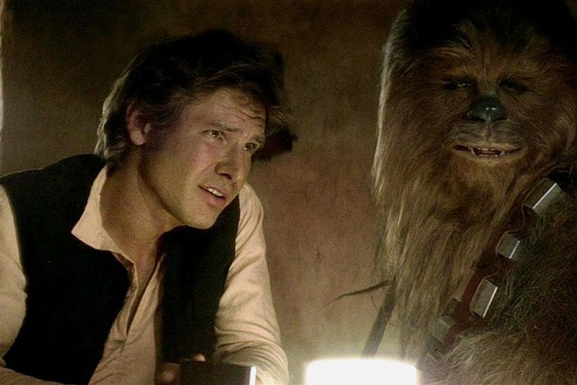 Han and Chewie, Star Wars