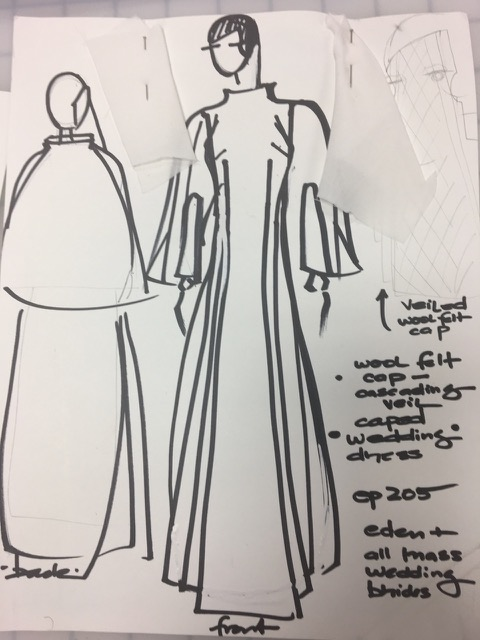 Handmaid's Tale wedding dress
