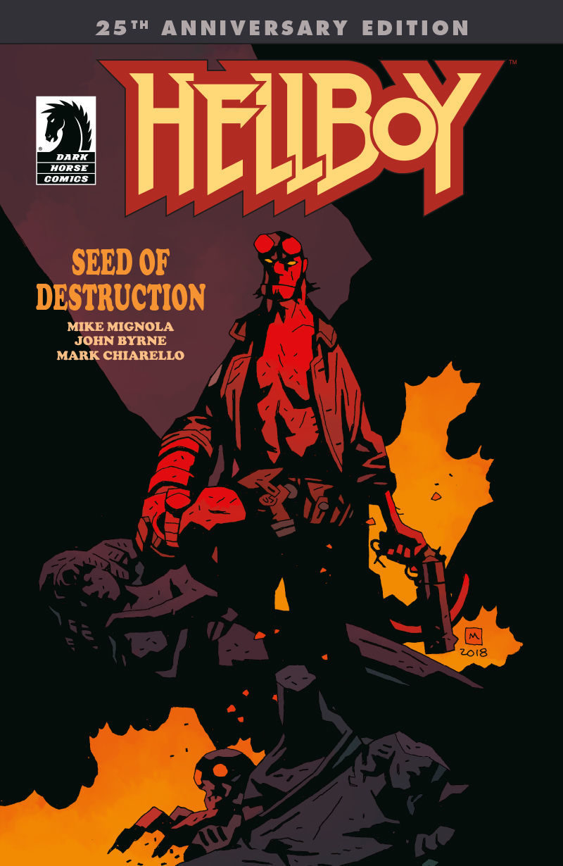 Hellboy, Seed of Destruction cover