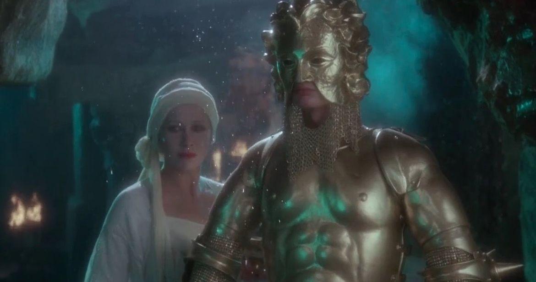 Helen Mirren and Robert Addie in Excalibur