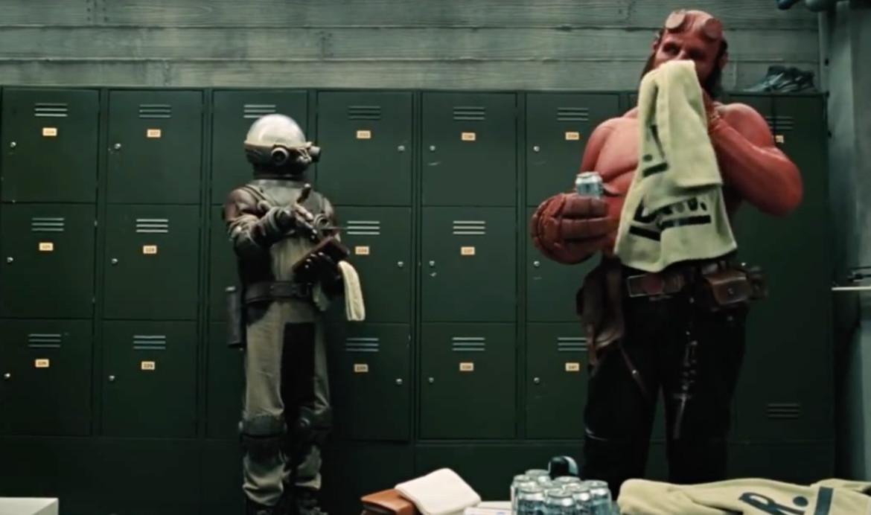 Hellboy II: The Golden Army- Hellboy and Johann Kraus