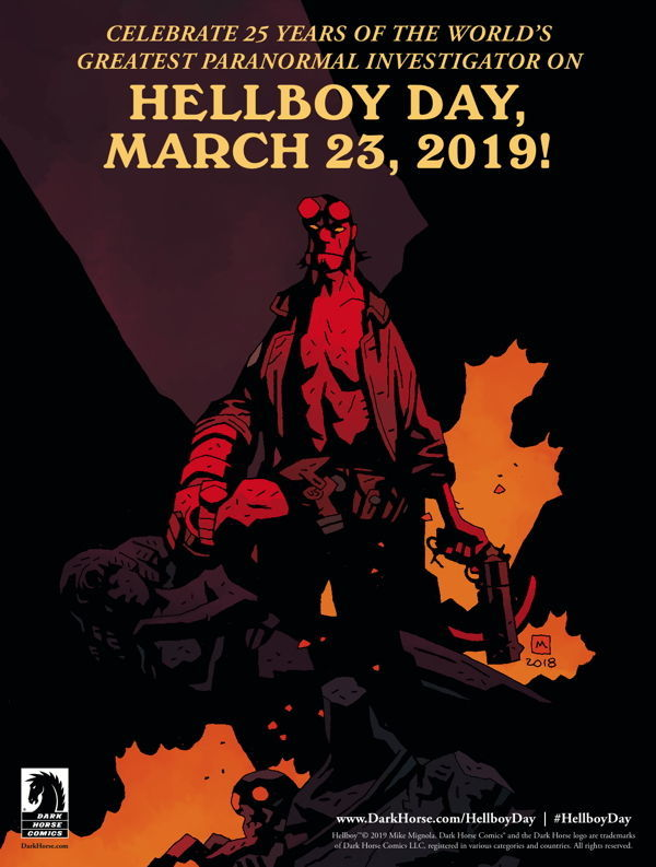 Hellboy Day 2019 announcement poster