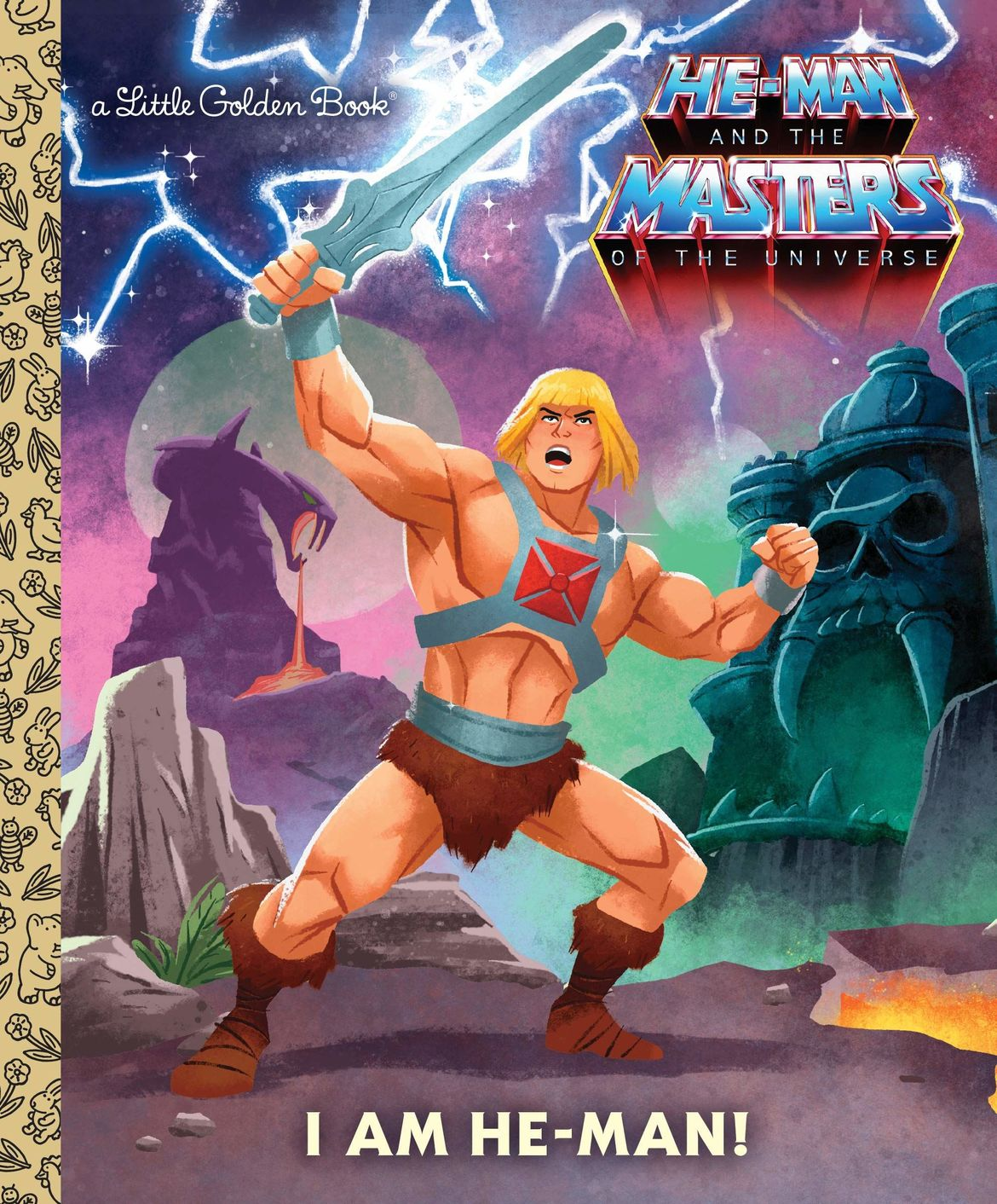 He-Man little golden book