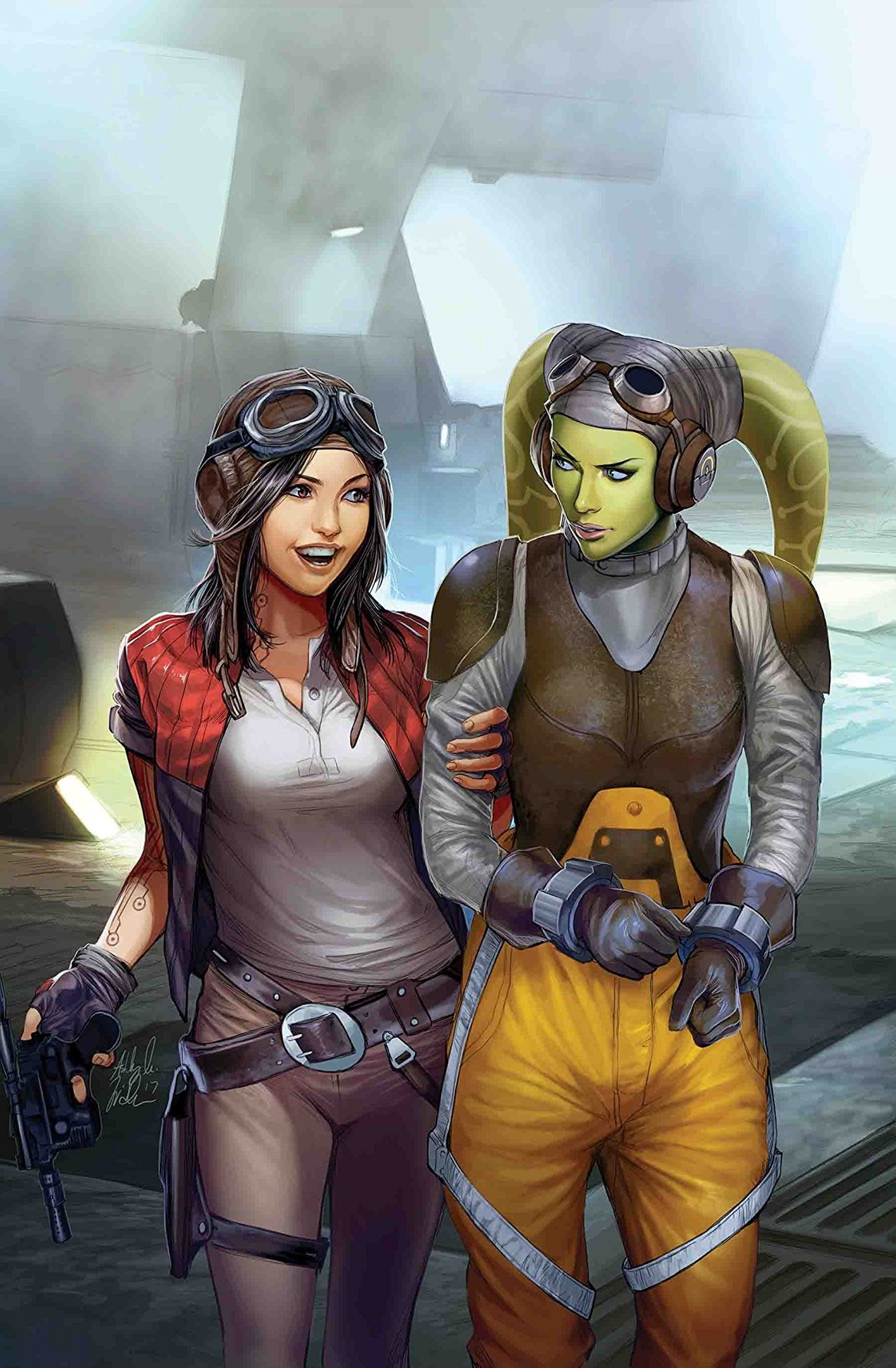 Hera Syndulla and Doctor Aphra- Star Wars: Doctor Aphra #18