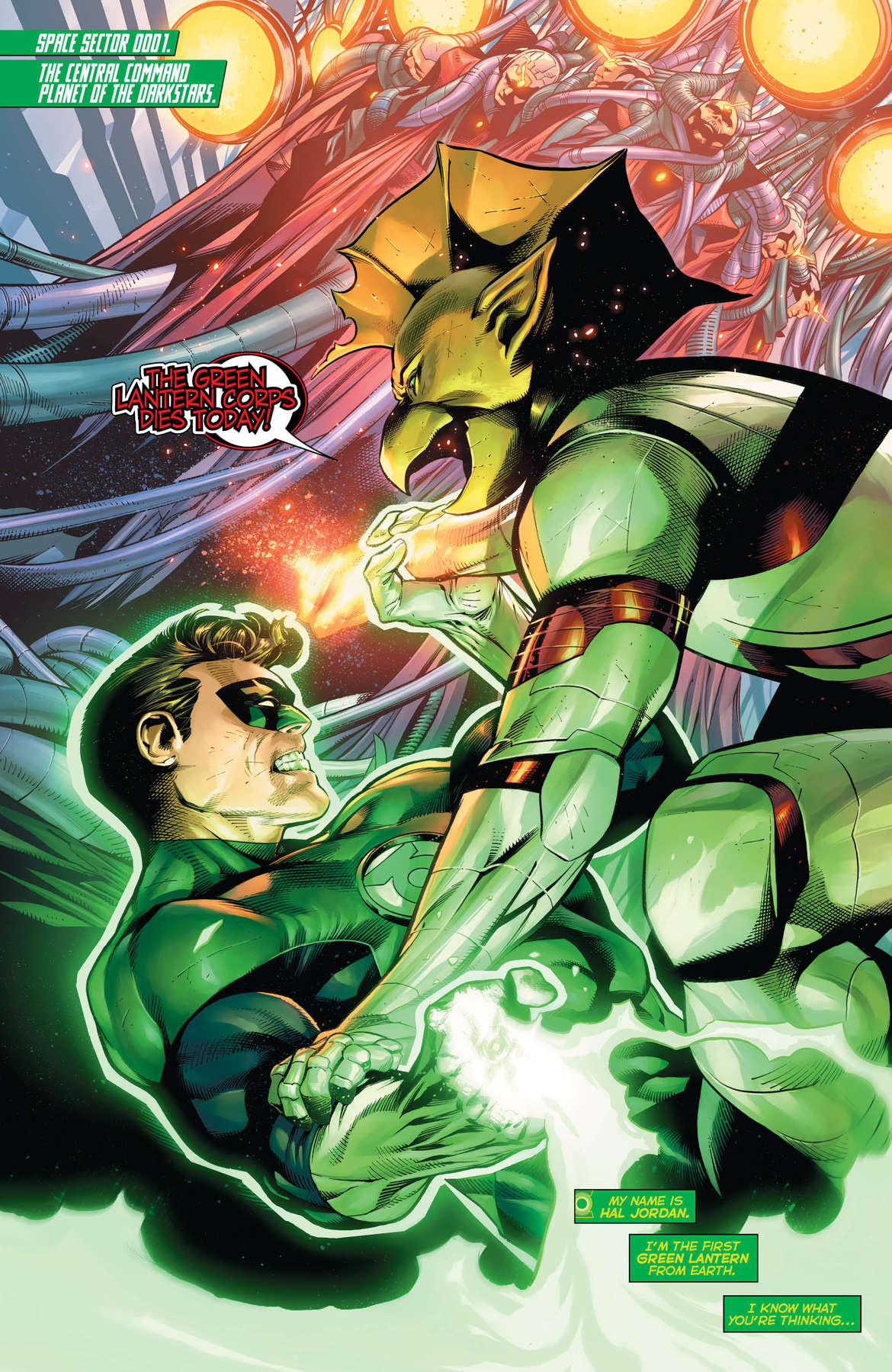 Hal Jordan and the Green Lantern Corps #50 Page 1
