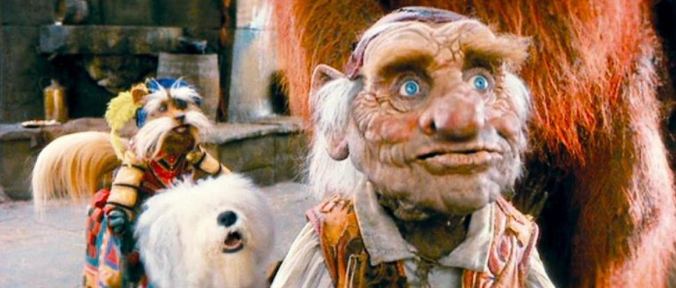 Labyrinth with David Bowie and Brian Henson