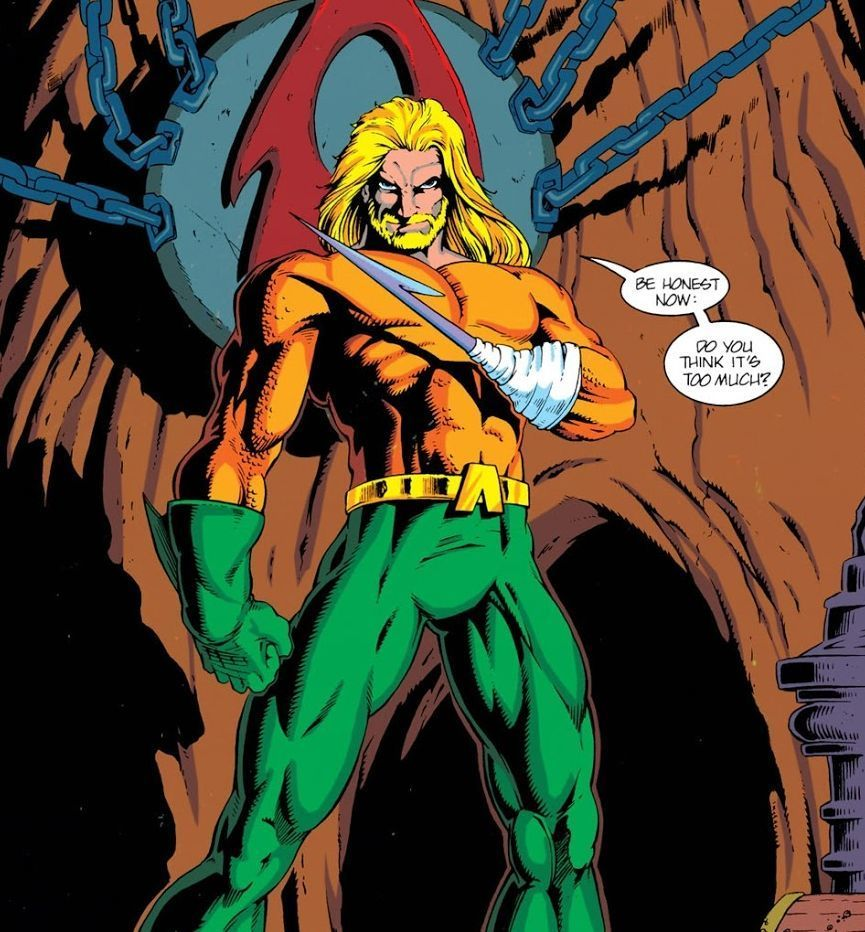 Aquaman #1 (1994) by Peter David with art byby Peter David and Marty Egeland, J. Calafiore, Joe St. Pierre.