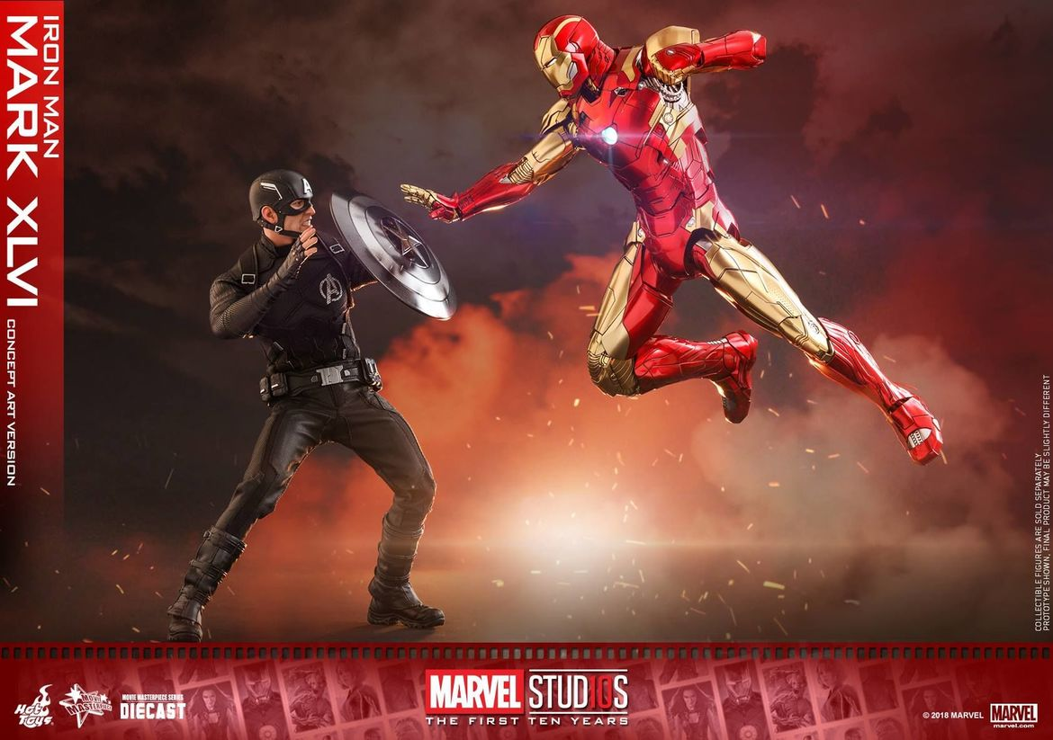 hot toys marvel studios iron man concept figure