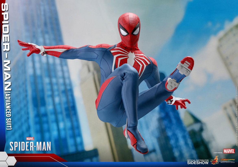 hot toys spider-man insomniac