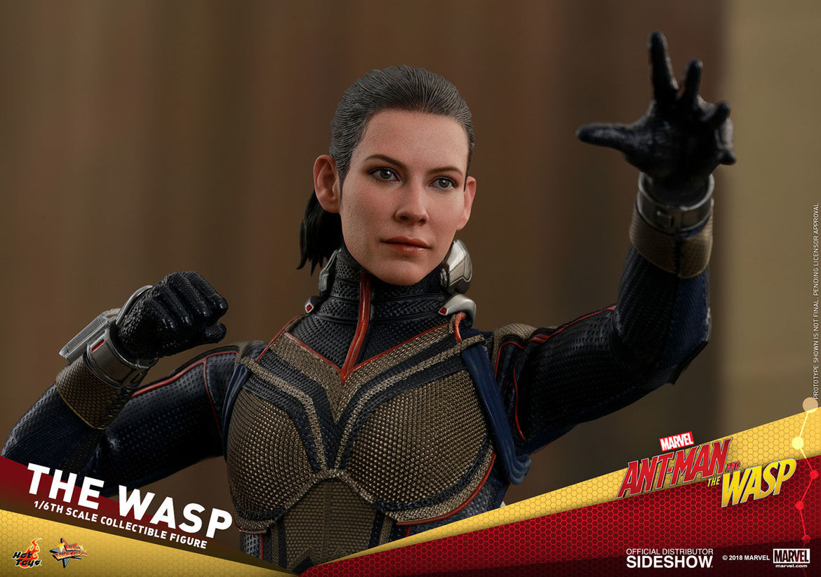 hot toys the wasp evangeline lilly
