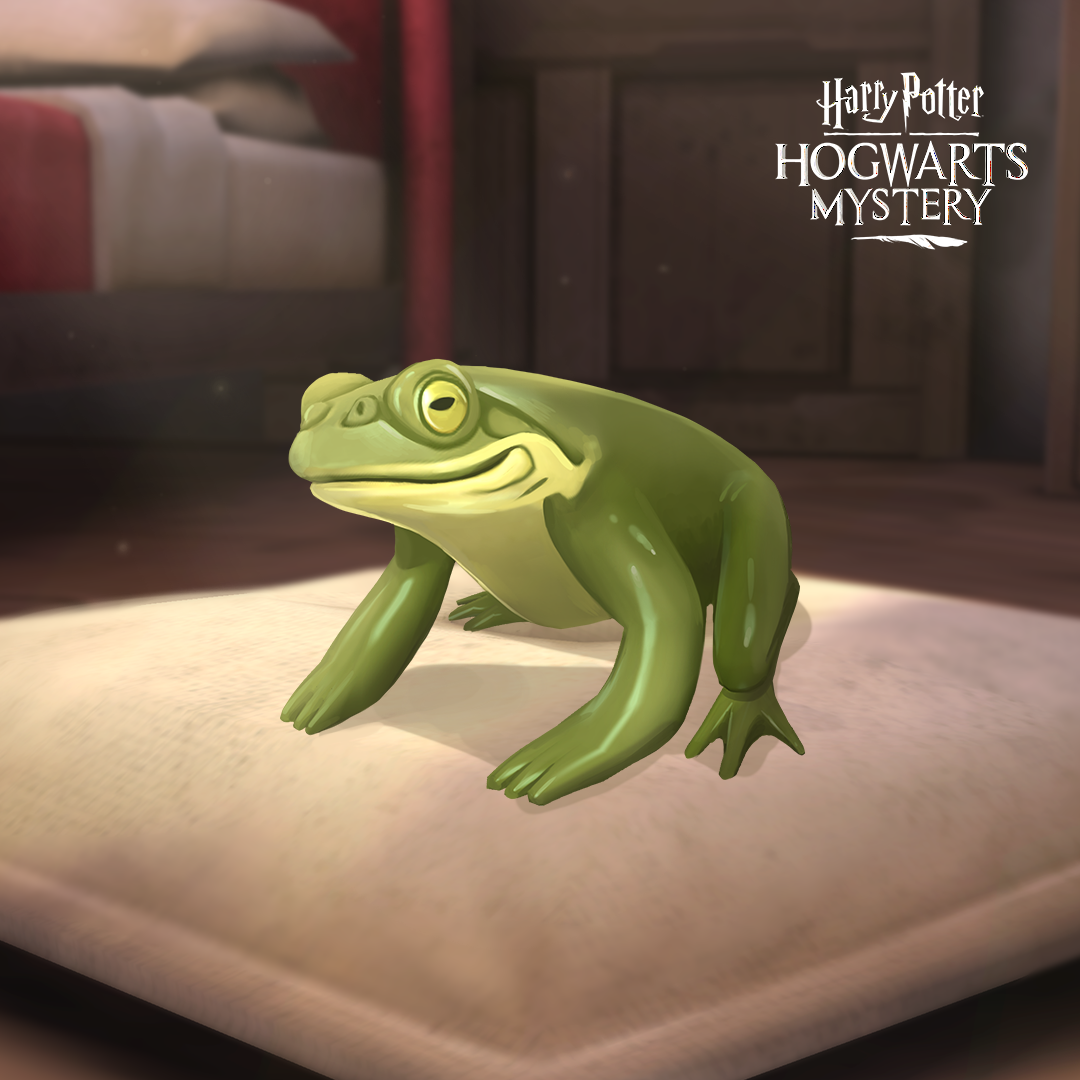 Harry Potter: Hogwarts Mystery toad