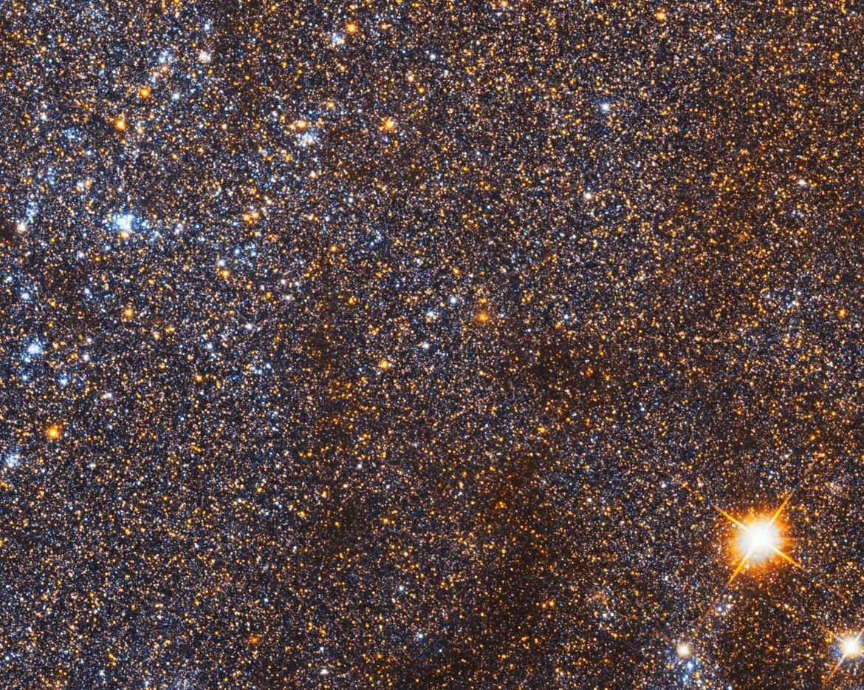 A random spot in the Triangulum Galaxy shows an immense number of stars. Credit: NASA, ESA, and M. Durbin, J. Dalcanton, and B.F. Williams (University of Washington)