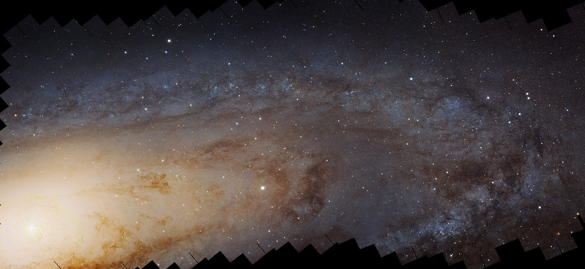The Andromeda Galaxy, as seen by Hubble. There is far, far more here than initially meets the eye. Credit: NASA, ESA, J. Dalcanton, B.F. Williams, and L.C. Johnson (University of Washington), the PHAT team, and R. Gendler