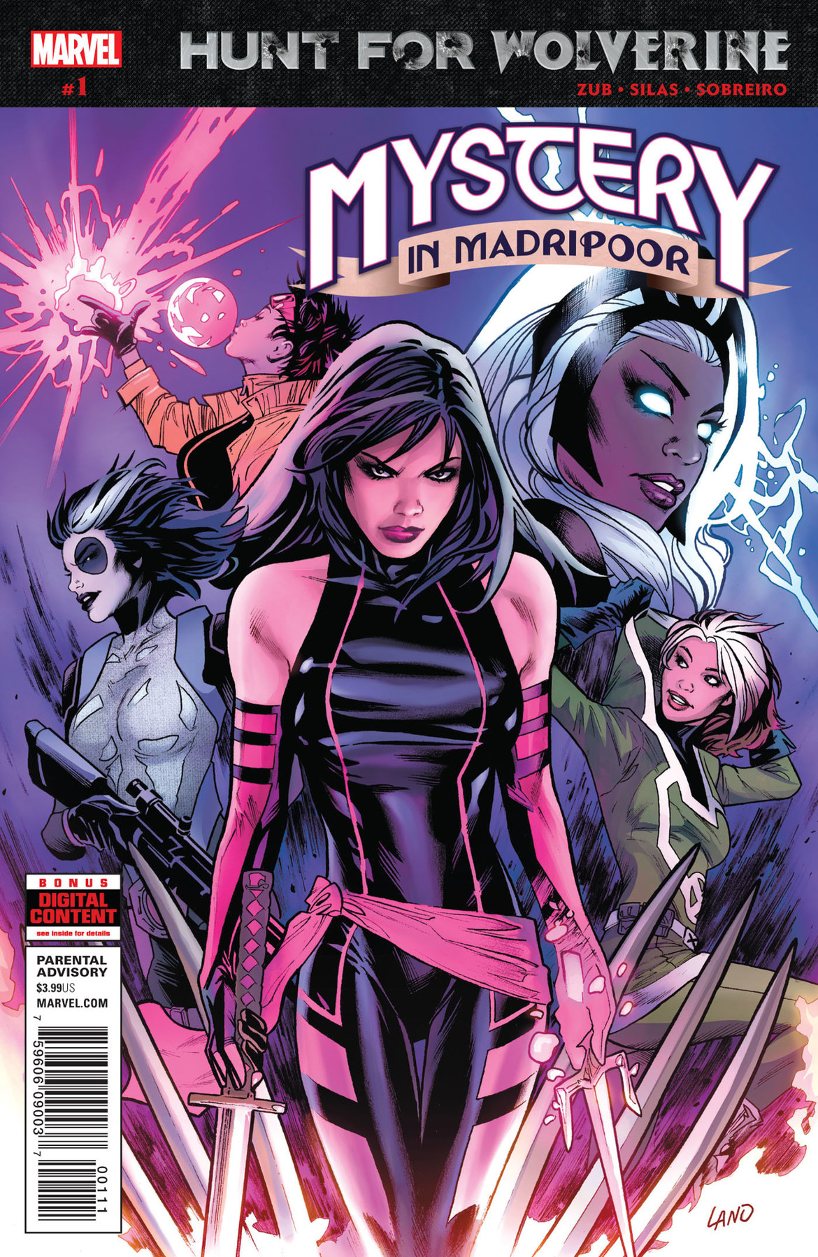Hunt for Wolverine: Mystery in Madripoor 1 cover