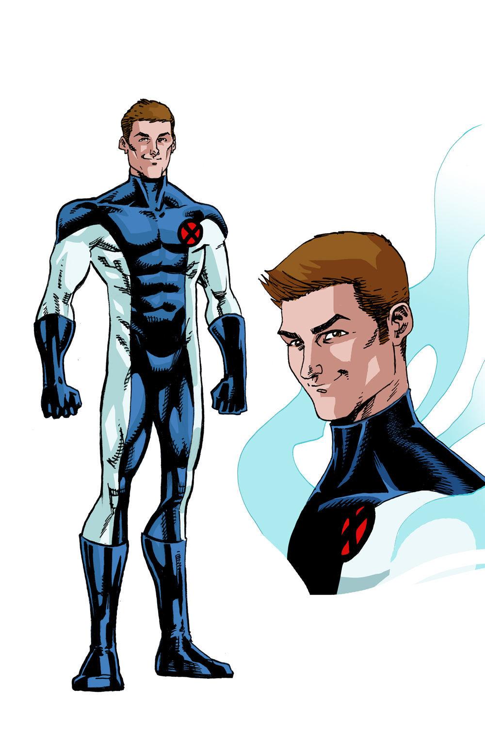 Iceman Art - Marvel