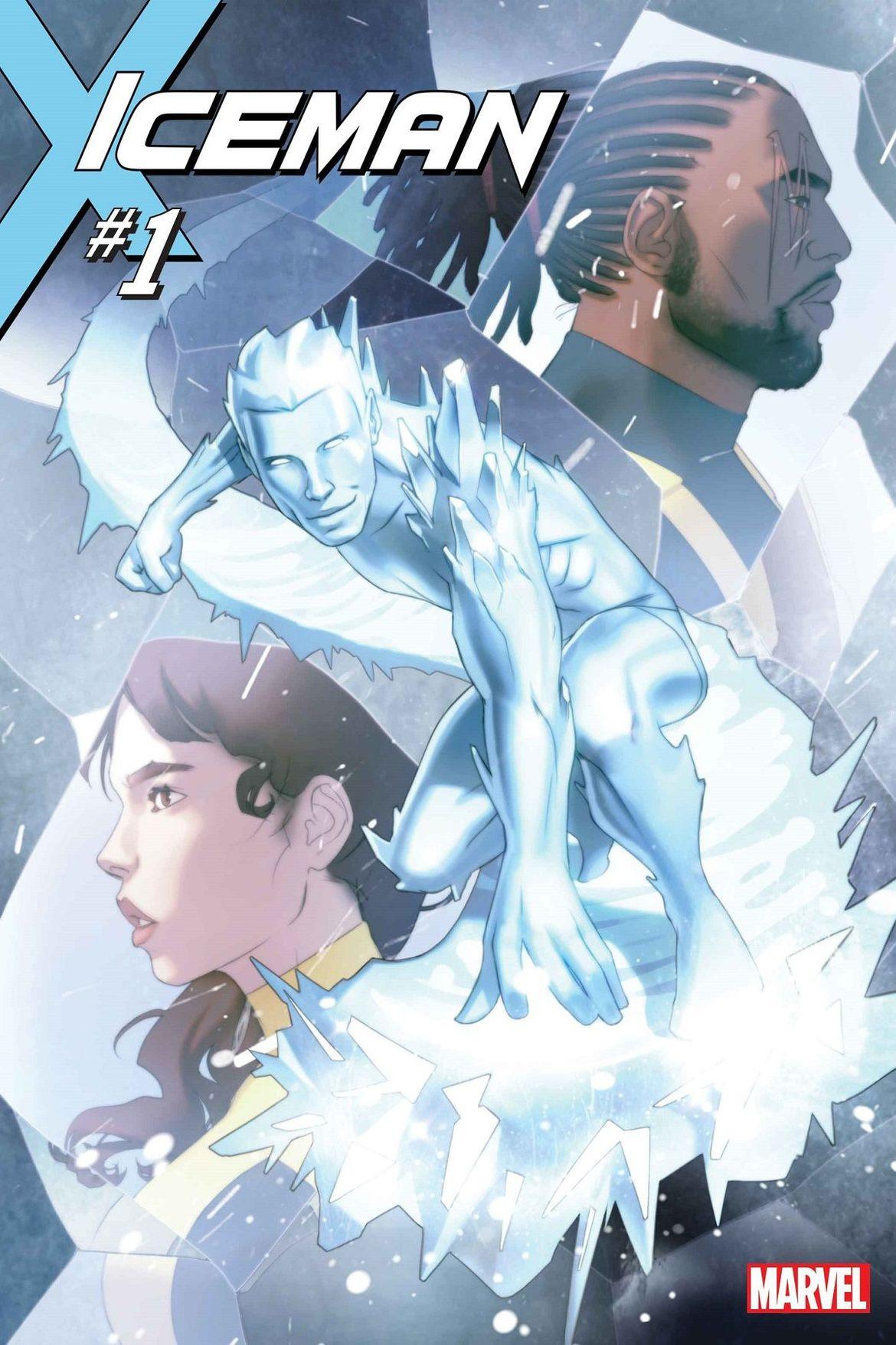 Iceman #1 Full Cover - Marvel