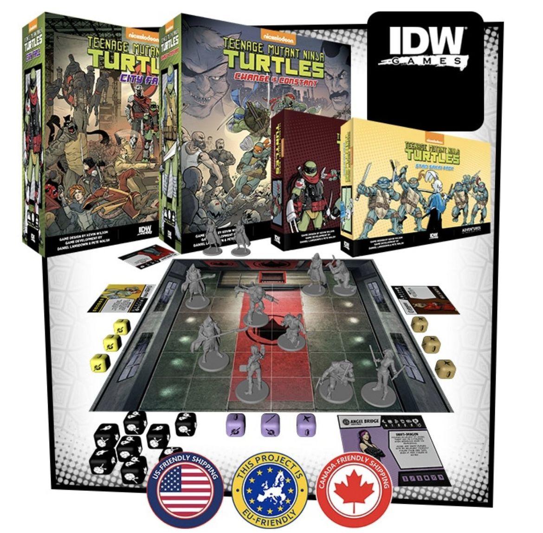 idw games tmnt kickstarter