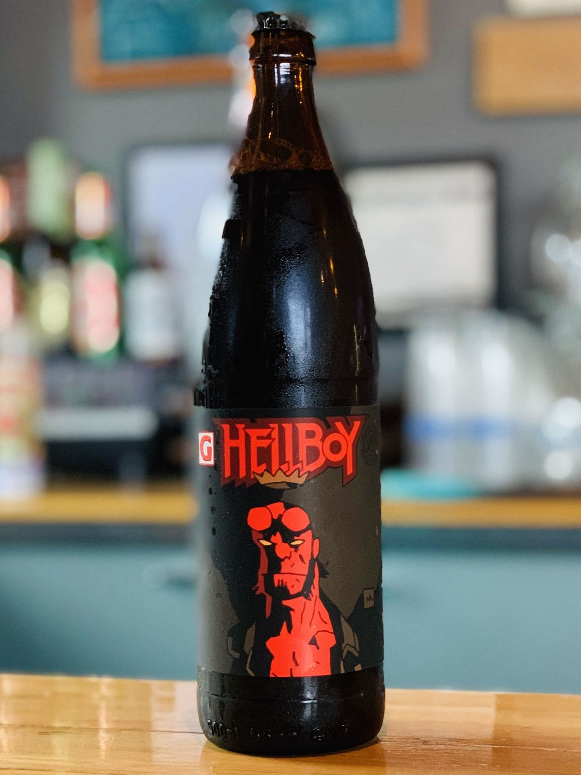 Bellboy Beer bottle