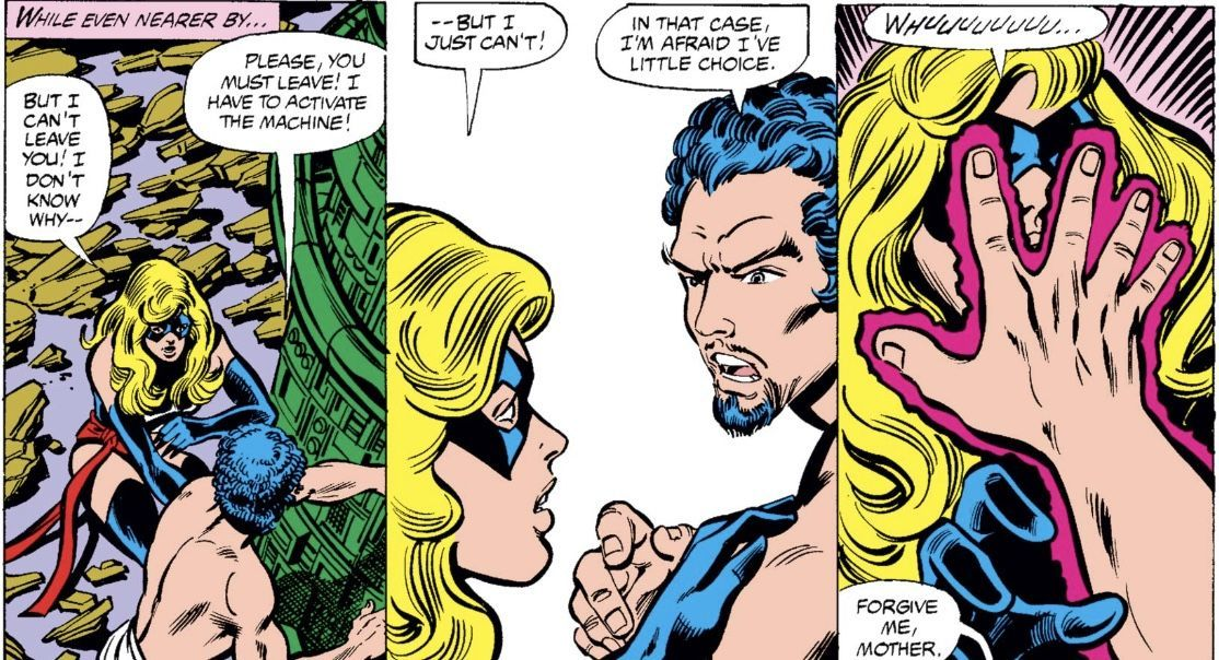 Carol Danvers giving birth to her sexual assaulter is her