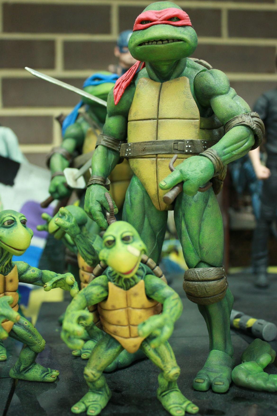 Making NECA's Teenage Mutant Ninja Turtles