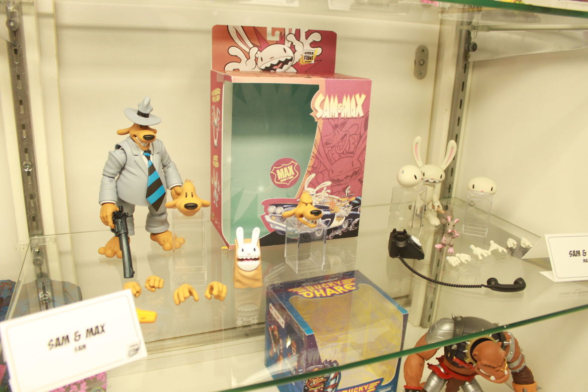 Boss Fight Studios Sam and Max Figures