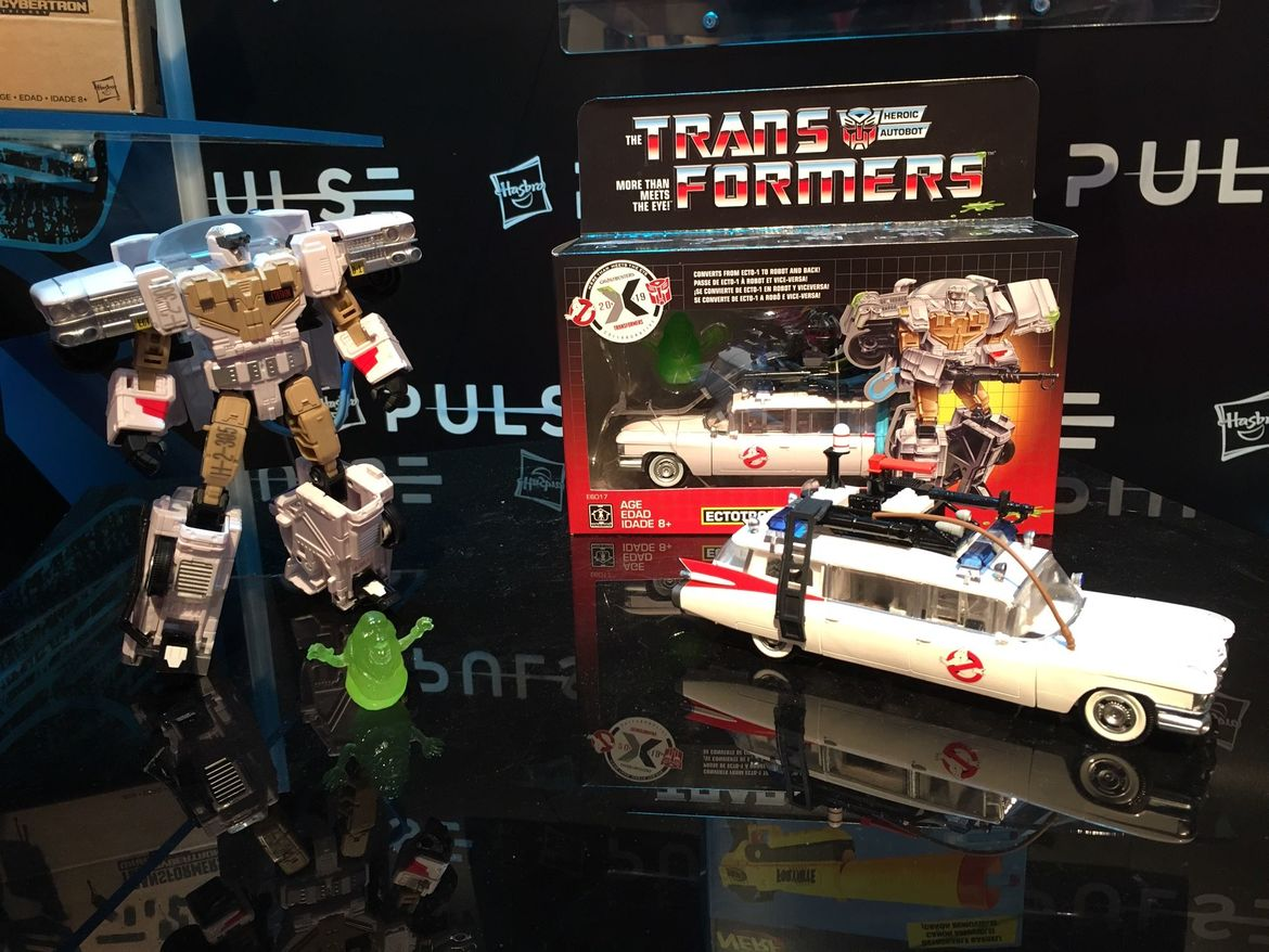 transformers ghostbusters toy