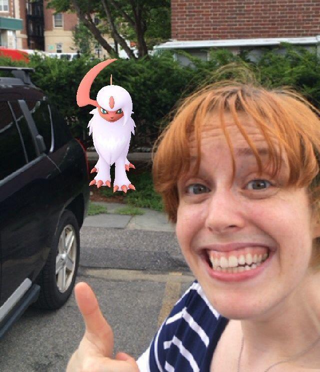 Pokémon Go player Emily Lydic