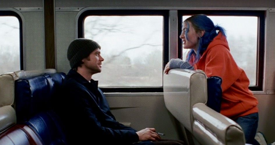 Orange hoodies, colorful hair and memory in Eternal Sunshine