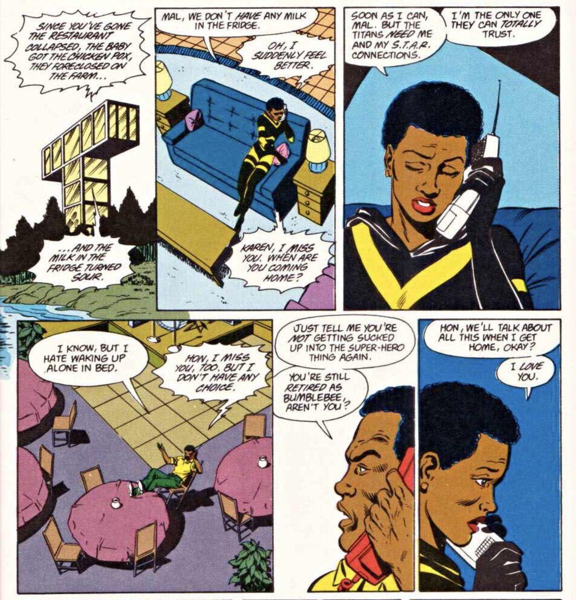 Bumblebee-Mal-Teen-Titans