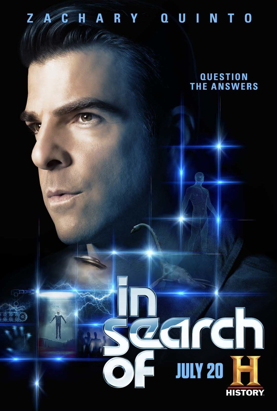 In Search Of with Zachary Quinto Poster