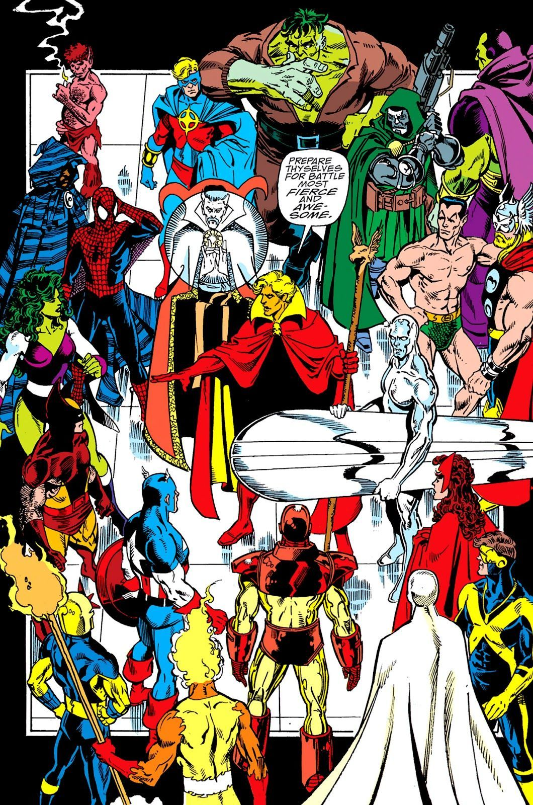 Infinity Gauntlet #3 (Written by Jim Starlin, Art by George Perez)
